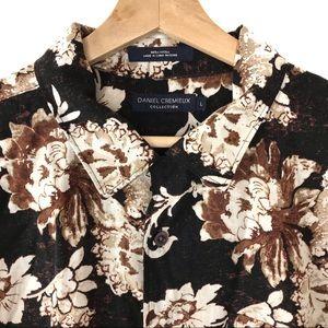 Daniel Cremieux Short Sleeve Floral Button Down